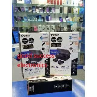XPower ClearX+ 防水運動藍牙耳機 [全新改良版] Bluetooth 全新香港行貨 原廠一年保養