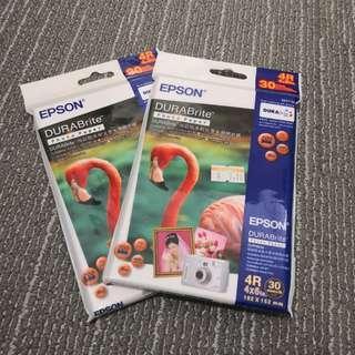EPSON 4R DuraBrite Photo Paper