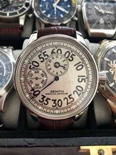 Vintage Zenith regulator 48mm