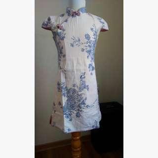 Qipao Chou Chou Chic baju anak girls' dress size 130