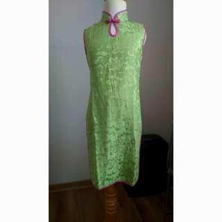 ASILK QIPAO CHEONGSAM SILK DRESS BAJU ANAK SZ 10/ 135