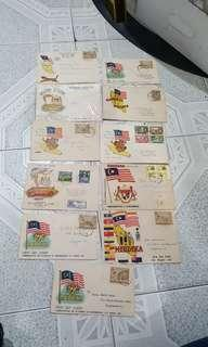 Malaya first day cover