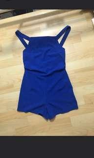 Korea Blue jumpsuit