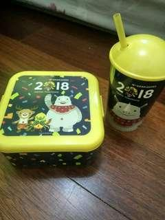 Asian Games Lunch Box Set