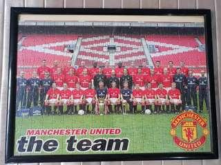 Manchester United 2000-2002 Photo Frame