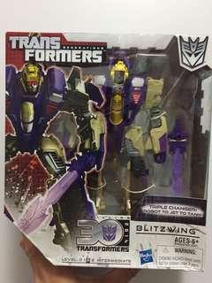 變形金剛 transformers blitzwing 3變