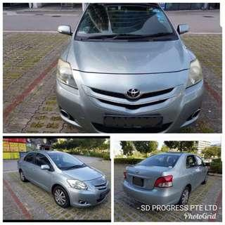 Toyota Vios 1.5 for rent