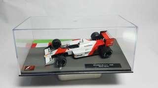 Aryton senna Honda mp4/4 formula one diorama