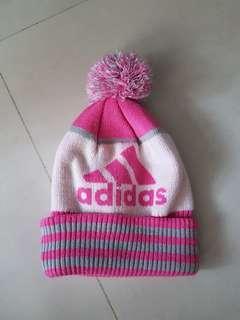 🚚 Adidas愛迪達 保暖 搭配 毛線帽