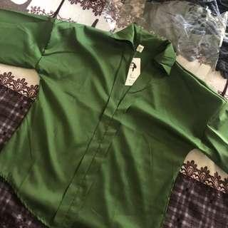 (BNWT) Army Green Blouse