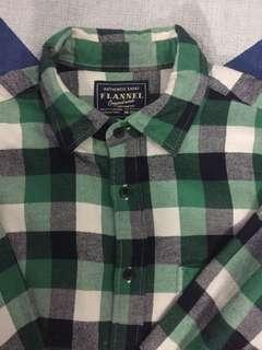 Checkered Flannel Shirt - Kemeja Flanel bukan Uniqlo
