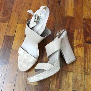 REPRICED! Vince Camuto Nude Heels