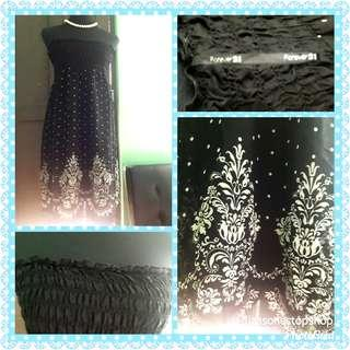 Forever 21 tube lace dress