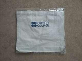 Brand New British Council tote bag