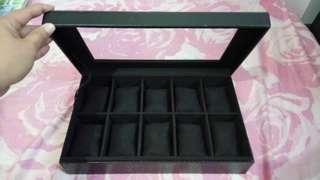 Tomato Time 10-Slot Watch Organizer Case Box Keeper
