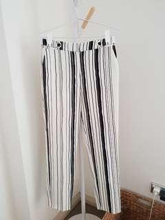 Topshop stripe pants