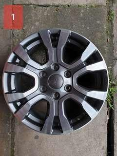 Ford Ranger Original Wildtrak Rim 18""