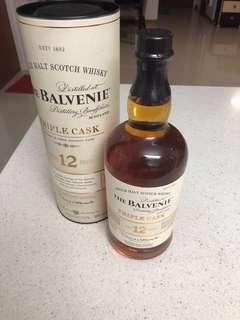 Single Malt Scotch Whisky (Balvenie 12yrs)