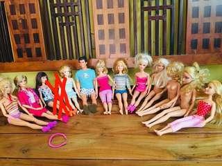 All Original Barbie 200-300php each