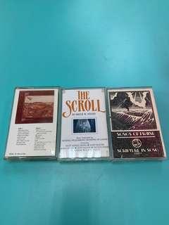 3 Old cassettes