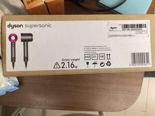 Dyson 風筒 hairdryer