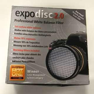 Expo Disc 2.0 Professional White Balance Filter (82mm)