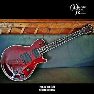 Michael Kelly Patriot Premium in Blood Red Finish *Made in Korea*