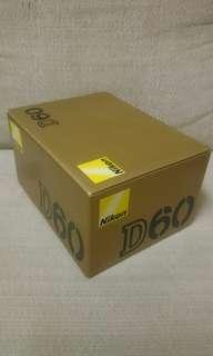 NIKON D60 Box only