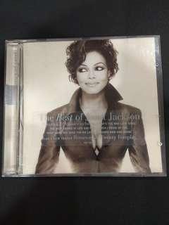 CD Janet Jackson - Design of a decade