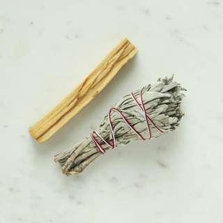 Smudge Kits - Palo Santo & White Sage