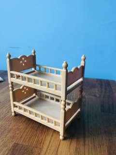 Sylvanian families stackable bed frames
