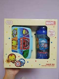 Marvel Lunch box and bottle set