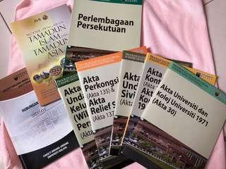 Akta - UM Jurisprudence Law Books (all)