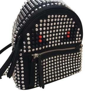Fendi Monster Karlito Backpack Studded Studs Red 20jt Beli pls indo 50jt