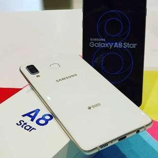 Samsung Galaxy A8 Star Bisa Di Kredit Promo Bunga Bisa 0%