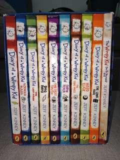 Diary of a Wimpy Kid Collection (1-9 + Do it yourself )