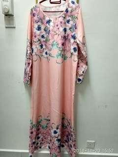 Floral Dress / jubah floral