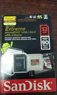 Sandisk Extreme 32gb Class 10 for Sports Cameras