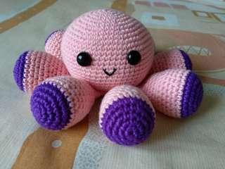 Boneka rajut - Octopus