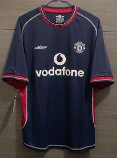 曼聯 manchester united 00/01 Away Jersey 作客 球衣 波衫 umbro