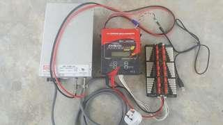 Complete Revolectrix Cellpro PowerLab 8 v2 1344W RC Battery Charger with Mean Well Switching 1500W Power Supply