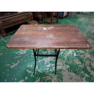 東鼎二手家具 木紋復古餐桌*休閒桌*餐廳桌*咖啡桌*戶外桌*吃飯桌*火鍋桌*簡餐桌*麻將桌*泡茶桌