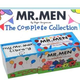 Mr. Men : The Complete Collection - 50 Books