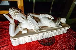 Reclining Sleeping Buddha Clay