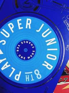 Super Junior The 8th Korea Album PLAY - One More Chance version with photocard