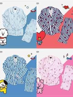 Preorder: Official BT21 Pyjamas T-shirt Pajamas