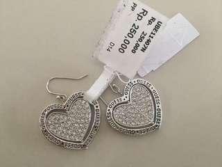 Guess earrings silver