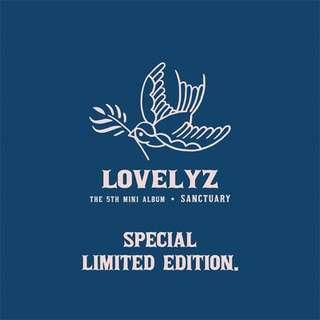 [LIMITED EDITION/PREORDER] LOVELYZ - Sanctuary (5th Mini Album)