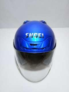 Shoei jf2 biru metallic copy