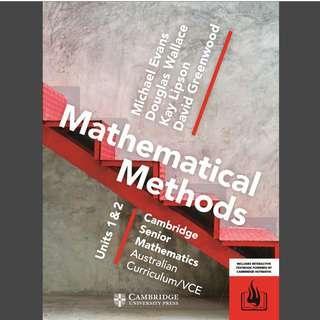 VCE pdfs Cambridge Jacaranda Heinamann Maths Chemistry Physics